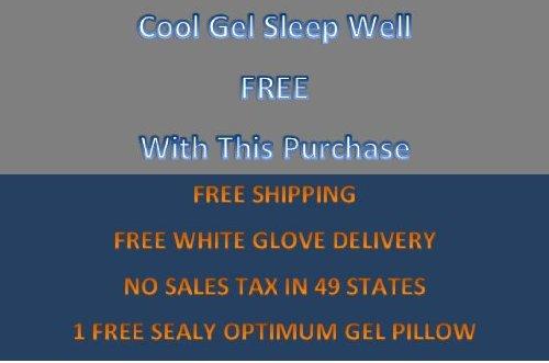 Sealy Posturepedic Optimum Inspiration Gel Memory Foam Standard King Mattress