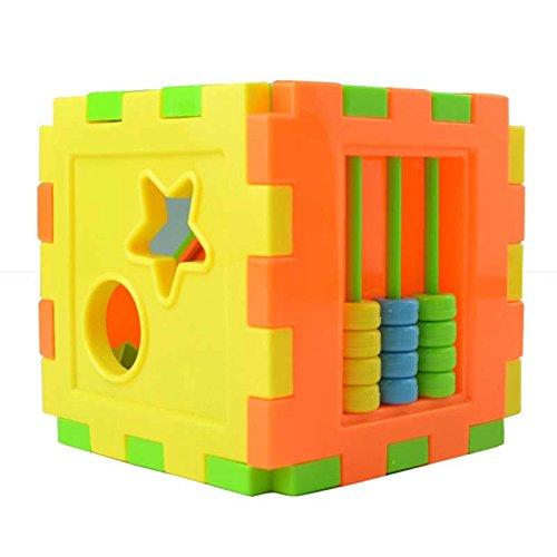 lzndeal Jeu de briques de construction avec blocs Mega Bloks en mousse pour enfants