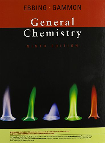 General Chemistry, Enhanced 9th Edition (with Enhanced WebAssign with eBook Printed Access Card)