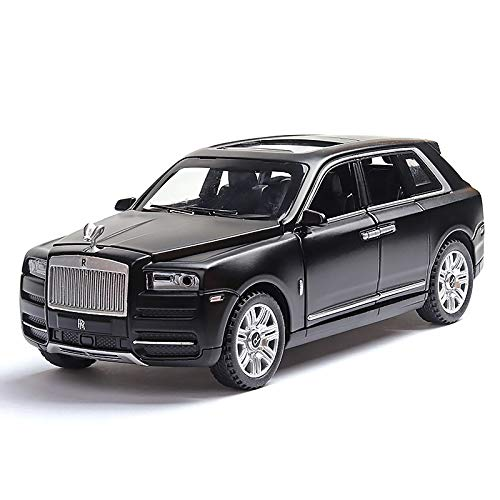 LENO Rolls Royce Cullinan SUV Diecast Metal Car Models | High Simulation | Scale 1:32 |Colour Black with Box
