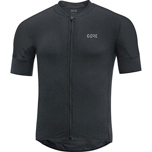 GORE WEAR C7 Men's Cycling Short Sleeve Jersey, Size: M, Color: Black