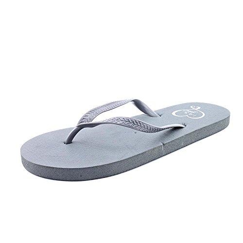 143 Girl Women Zada Thong Sandals Gray