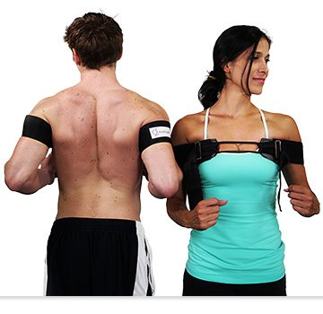 Stand Up Str8 Posture Corrector, Middle Back Exerciser, Fixes Rounded, Hunched Position, Strengthens Posterior Shoulder Blade Muscles