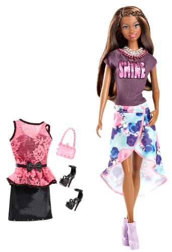 Fashion Barbie Style Doll (Barbie So In Style Grace Doll and Fashion Gift Set)