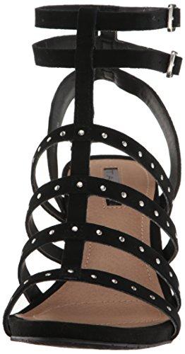 Tahari Women's Ta-Fitzy Wedge Sandal Black ob6Ype