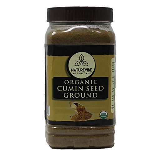 Organic Cumin Seed Powder by Naturevibe botanicals, 1 lb (Cuminum cyminum L.) | Raw, Gluten-Free & Non-GMO | Adds Flavor and - Cumin Powder Seed