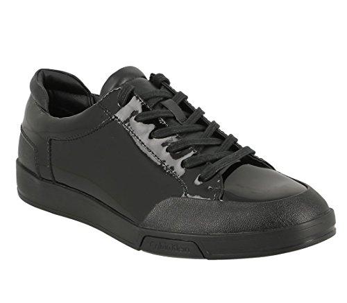 Calvin Klein Calvin Klein Balin Lea Patent Smooth Black F0754blk - Zapatos de Cordones de Otra Piel Hombre