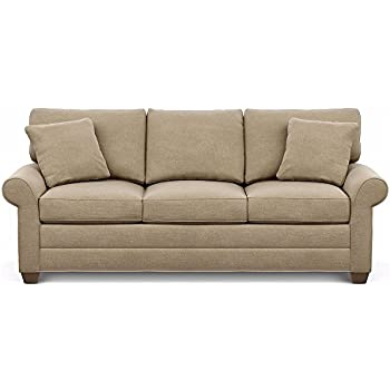 Amazon Com Ethan Allen Bennett Roll Arm Sofa 86 Quot Sofa