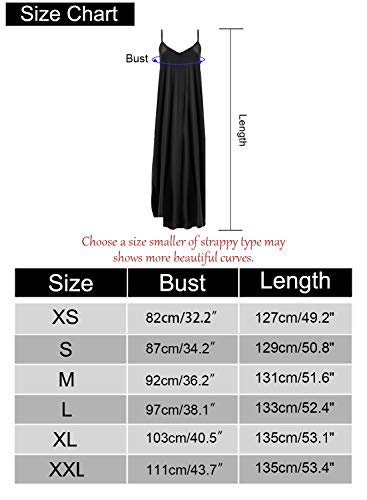 bcb4406f5d277 HUSKARY Women's Summer Casual Pockets Strappy Long Dress Loose Beach Cami  Split Maxi Dress Army Green