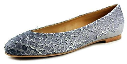 Maison Martin Margiela 22 IGrey 'Python' Embossed Flat (39 IT / 9 US)