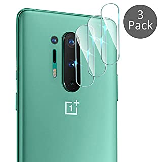 Suoman 3-Pack for Oneplus 8 Pro Camera Lens Protector, [Flexible Glass] [Not Affect Flash] Camera Lens Protector for Oneplus 8 Pro