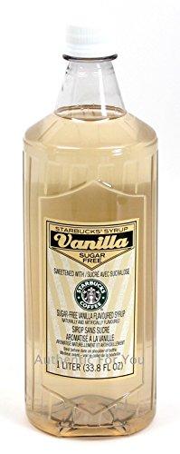 Starbucks Sugar-Free Vanilla Syrup -