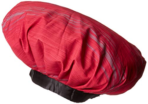 Satin Dream Sleep Bonnet Adjustable Rainbow XL Dual Layered Cap with Non-Elastic Head Band for Natural Hair,Braids, Locs, Long & Thick Hair or Weaves. Use with Satin Dream Shower Cap (Patent Pending) (Best Hairstyles For Transitioning Hair)