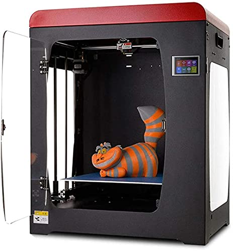 """RSBCSHI 3D Printer Resin Desktop, Extruder with Air Filtering System and 3.2"""" Smart Touch Color Screen Off-Line Print…"""