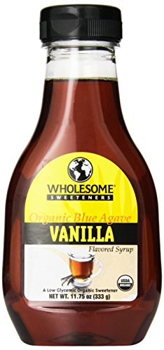 UPC 129500815904, Wholesome Sweeteners Organic Blue Agave, Vanilla Flavored, 11.75-Ounce Bottles (Pack of 6)