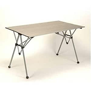 Amazon Com Lewis Amp Clark Folding Camp Table Sports