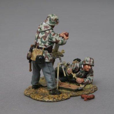 Thomas Gunn Miniatures SS057A-TGM German 80mm Mortar Set - Normandy