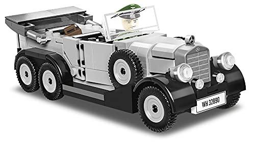 COBI 역사 컬렉션 1939 메르세데스 G4 차량 금속 회색