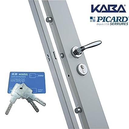 Cerradura carénée 6 puntos Picard Kaba