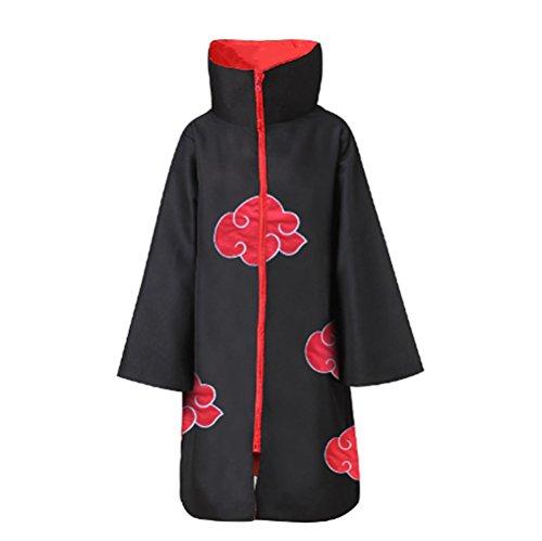 AI-Do Naruto Costume Akatsuki Style Cloak XXXLsize Plus Size(Itachi Stand (Otaku House Costumes)