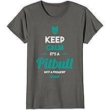 pitbull tshirt Keep Calm It's A Pitbull Pit lover T-Shirt
