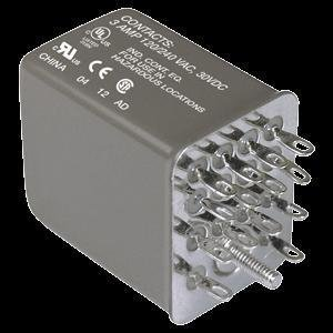 General Purpose Relays Herm Ice Cube Relay 4PDT, 3 Amp Rating