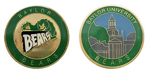 Baylor University - Bears - Collectible Challenge Coin - Logo Poker - Lucky Chip