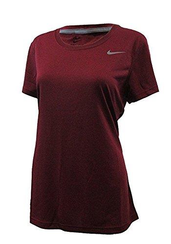 Nike Dri-Fit Legend de manga corta camiseta de la mujer Cardinal