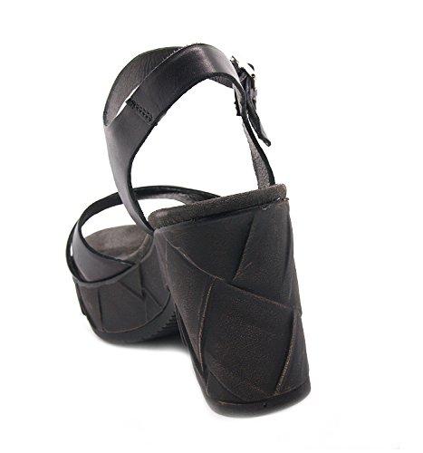 Carmens padova - Sandalias de vestir de Piel para mujer negro