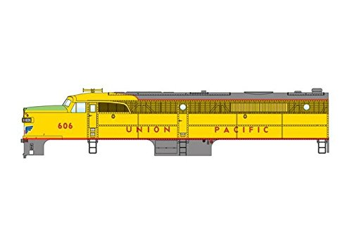 (Alco PA - Standard DC -- Union Pacific(R) #606 (yellow, gray, red, green) )