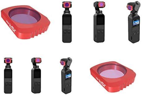 ポケットカメラDJI OSMO用2x ND4 + ND8 NDレンズフィルターフィルター光学ガラス