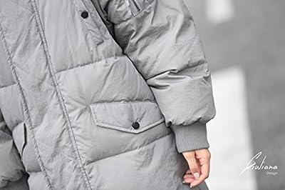 Women Waterproof Stain-Resistant Anorak Winter Long Quilted Coat