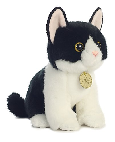 Black Kitten - Aurora World Miyoni Tots Black and White Tuxedo Kitten Plush