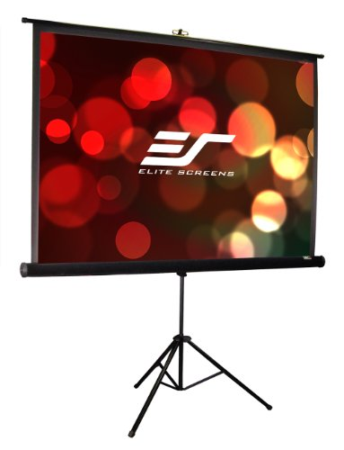 Elite Screens Tripod Pro, 119-inch, Professional Multi Aspect Ratio Portable Projection Projector Screen, T119UWS1-PRO by Elite Screens