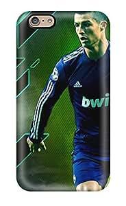 Brand New 6 Defender Case For Iphone (cristiano Ronaldo Goal)(3D PC Soft Case)