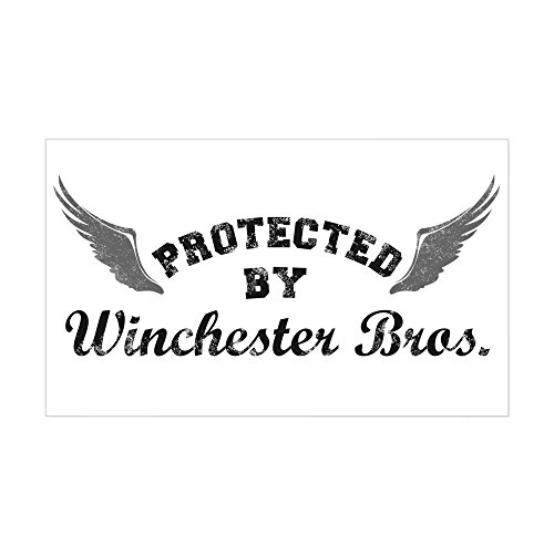CafePress SUPERNATURAL Winchester Sticker Rectangle