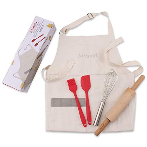 [해외]Aichoof 아동용 베이킹 세트 5피스 요리 도구 아동용 / Aichoof Kids Baking Set 5 Pc Cooking Tools for Kids