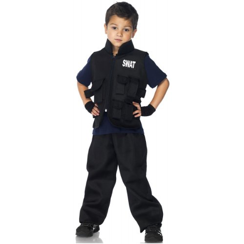 [Leg Avenue Children's SWAT Commander Costume] (Swat Vest Costume)