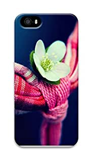 iPhone 5 5S Case Flowers And Towel 3D Custom iPhone 5 5S Case Cover