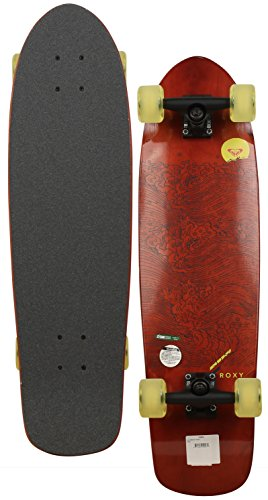 Roxy Carried By The Sea Longboard Skateboard - Yellow