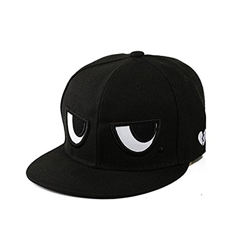 Eye Pattern (Adjustable Hip-hop Hats Unisex Novelty Baseball Cap Eyes Pattern Snapback)