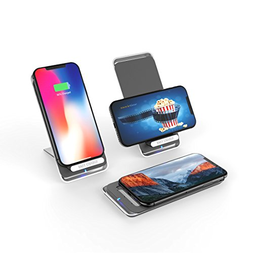 Wireless Charger, Convertible Pad or Stand 10W ...