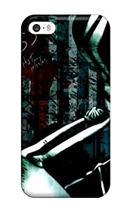 New Style Ortiz Bland Anime D Gray Man Psp Premium Hard Cover Case For Iphone 5/5s