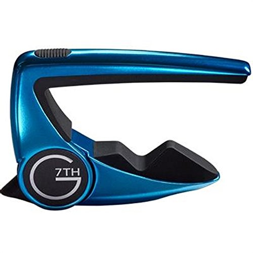 G7th Performance 2 Steel String Guitar Capo - LIMITED EDITION LimeLight Blue