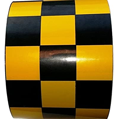 ifloortape Checkerboard Vinyl Tape - Contrasting Checkers for Racing, Shop
