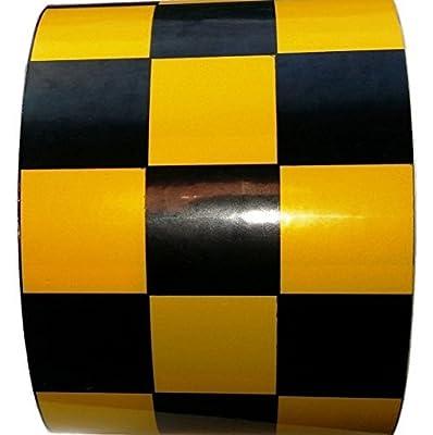 ifloortape Checkerboard Vinyl Tape - Contrasting Checkers for Racing, Shop