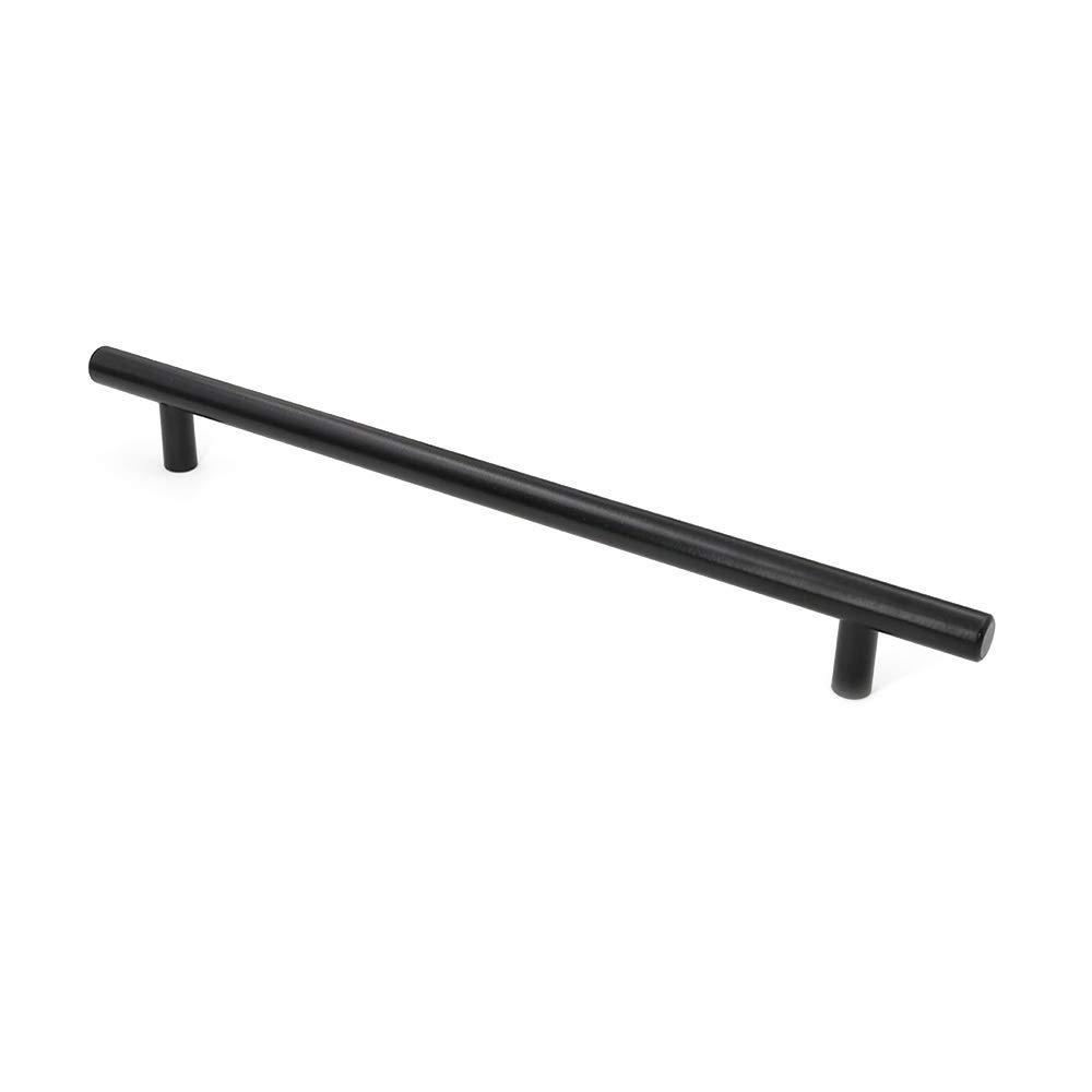 20pcs Black Drawer Handles Kitchen Cupboard Handles 96mm 3.75inch LS201BK - LONTAN T Bar Cabinet Handles Kitchen Handles Drawer Pulls