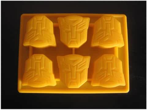 Transformers Autobots Ice Tray Candy Chocolate Mold