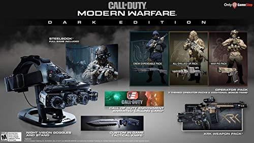 Amazon Com Call Of Duty Modern Warfare Dark Edition Xbox One