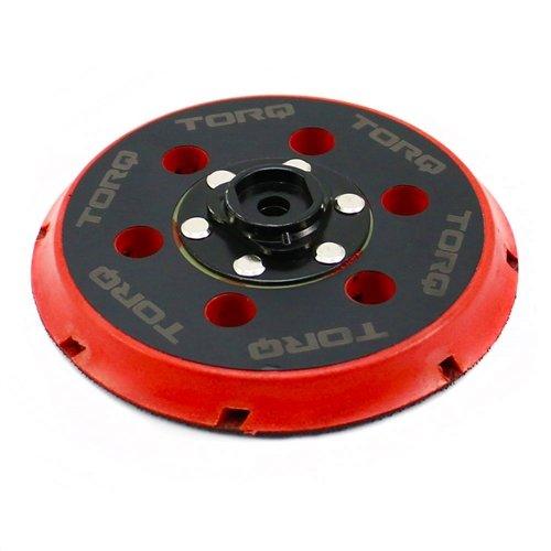 Torq TORQ200 Red TORQ22D Backing Plate (5 inch)